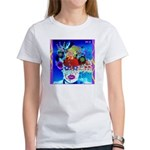 Fabulous Demented Diva Clown Women's T-Shirt
