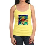 Fabulous Demented Diva Clown Jr. Spaghetti Tank
