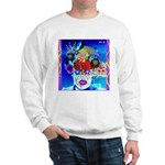 Fabulous Demented Diva Clown Sweatshirt