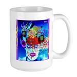 Fabulous Demented Diva Clown Large Mug
