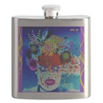 Fabulous Demented Diva Clown Flask