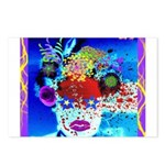 Fabulous Demented Diva Clown Postcards (Package of