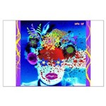 Fabulous Demented Diva Clown Large Poster