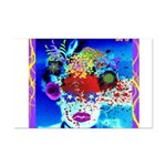 Fabulous Demented Diva Clown Mini Poster Print
