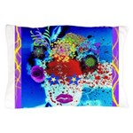 Fabulous Demented Diva Clown Pillow Case