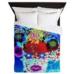 Fabulous Demented Diva Clown Queen Duvet