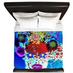 Fabulous Demented Diva Clown King Duvet