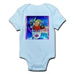 Fabulous Demented Diva Clown Infant Bodysuit