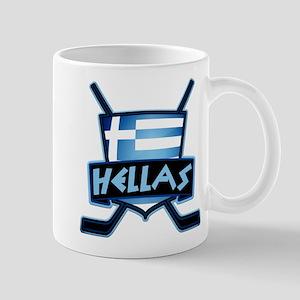 Greece Ice Hockey Shield Hellas Mug