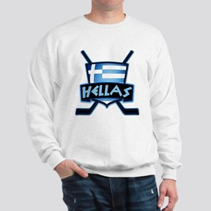 Greece Ice Hockey Shield Hellas Sweatshirt