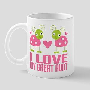 I Love My Great Aunt Mug