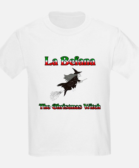 La Befana The Christmas Witch Kids T-Shirt