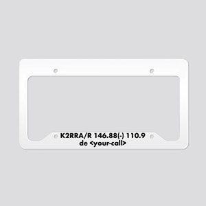 Listening on 88 (plate frame) License Plate Holder
