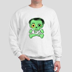 Undead Zombie Sweatshirt (White)