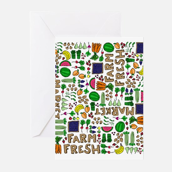 Farmers Market Medley Greeting Cards (Pk of 20)