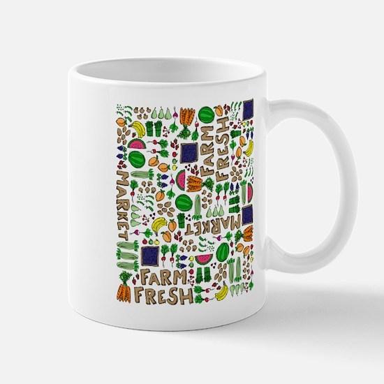 Farmers Market Medley Mug