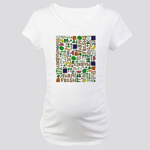 Farmers Market Medley Maternity T-Shirt