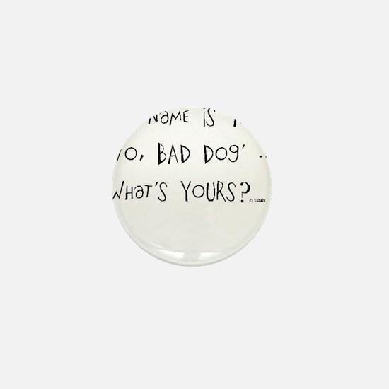 Funny Haha Mini Button