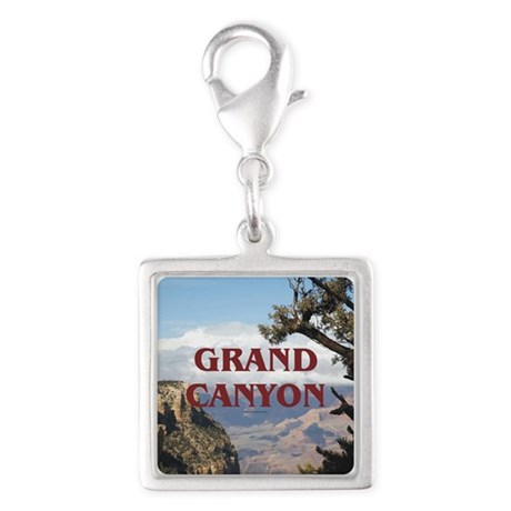 ABH Grand Canyon Silver Square Charm