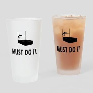 High Jump Drinking Glass