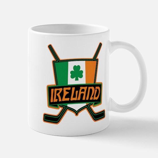 Ireland Irish Ice Hockey Shield Mug