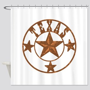 Texas Stars Shower Curtain
