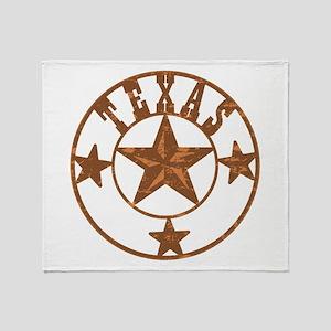 Texas Stars Throw Blanket