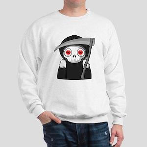Grim Reaper Sweatshirt (White)