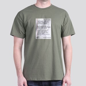 Pharmacy Terms & Calculations Dark T-Shirt