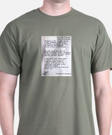Pharmacy Terms & Calculations T-Shirt