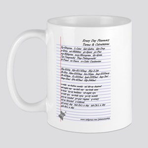 Pharmacy Terms & Calculations Mug