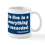 Edward Snowden Quote Mug