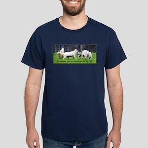 Bulldog Football  Dark T-Shirt