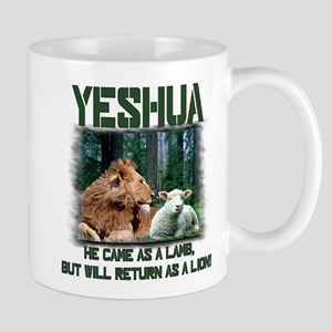 Yeshua, Lion & Lamb Mug