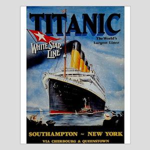 Vintage Titanic Travel Posters