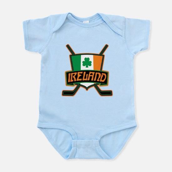Ireland Irish Ice Hockey Shield Body Suit