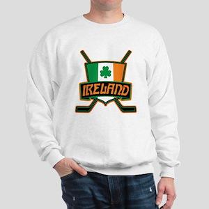 Ireland Irish Ice Hockey Shield Sweatshirt