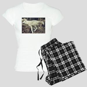 """Running Arctic Wolf"" Pajamas"