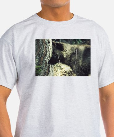 """""""Young Black Wolf"""" T-Shirt"""