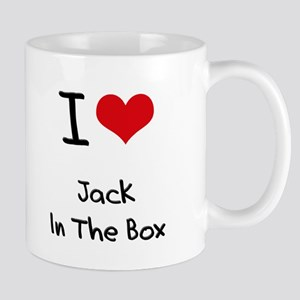 I Love Jack In The Box Mug
