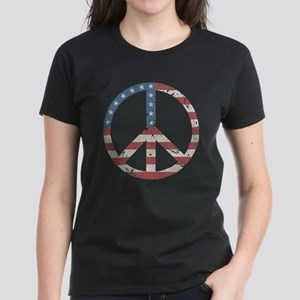 Vintage Peace USA Women's Dark T-Shirt