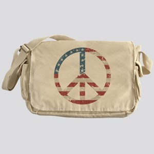 Vintage Peace USA Messenger Bag