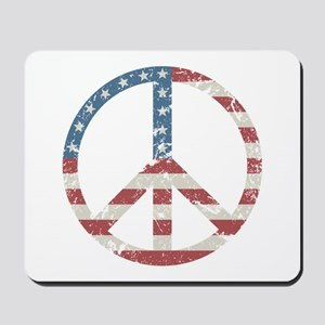 Vintage Peace USA Mousepad