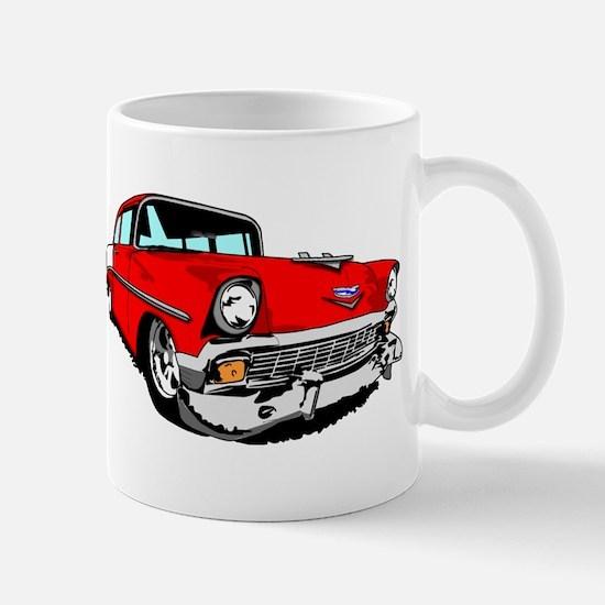 1956 Bel Air Red 2 Door Mug