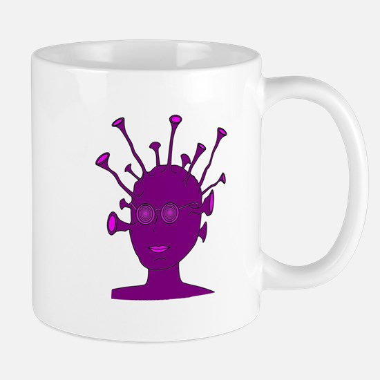 Purple Creature With Antennae Mug