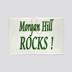 Morgan Hill Rocks ! Rectangle Magnet