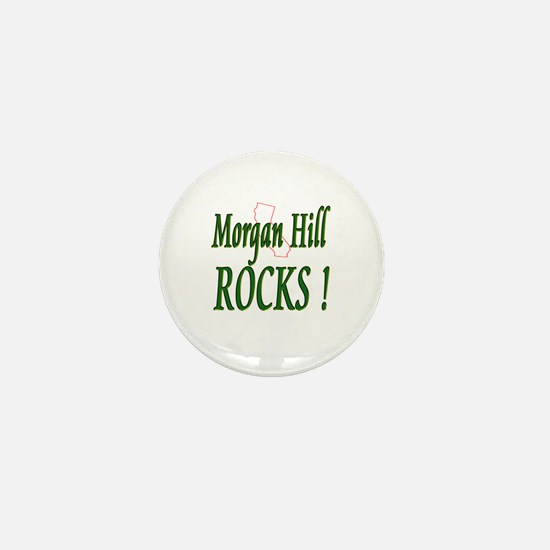 Morgan Hill Rocks ! Mini Button