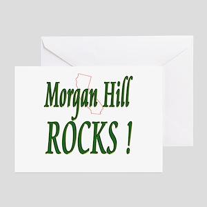 Morgan Hill Rocks ! Greeting Cards (Pk of 10)