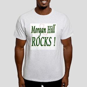 Morgan Hill Rocks ! Ash Grey T-Shirt