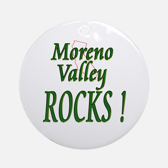 Moreno Valley Rocks ! Ornament (Round)
